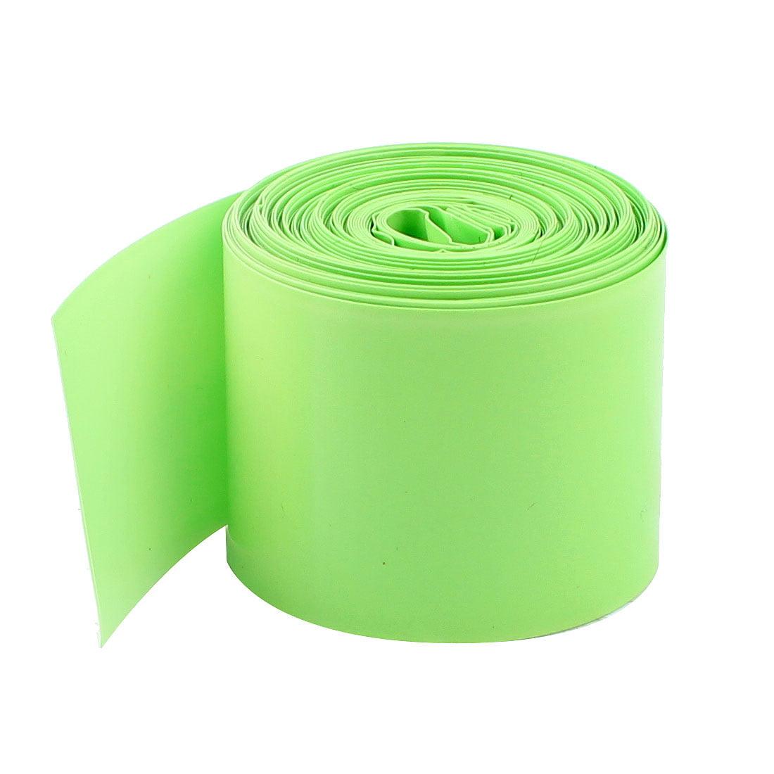 5M Long 29.5mm Verde Unique 18650 Batterie PVC Thermorétractable Tube Enveloppe - image 1 de 1
