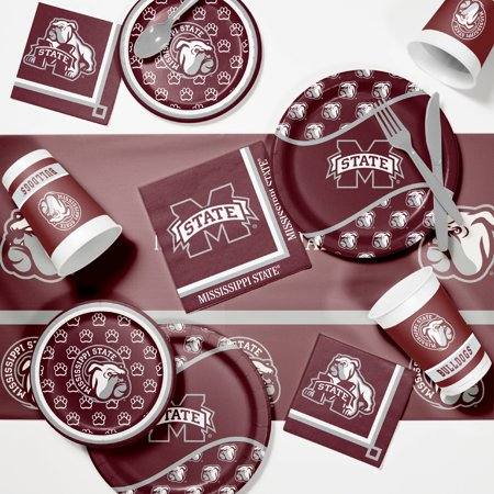Mississippi State University Game Day Party Supplies Kit