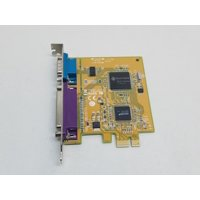 Refurbished Dell GP385 PCI Express x1 Serial & Parallel Expansion Card