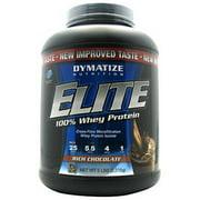Dymatize  100% Whey Protein, Rich Chocolate, 5 LB