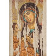 Thea Gouverneur Counted Cross-Stitch Kit, Icon Mother of God
