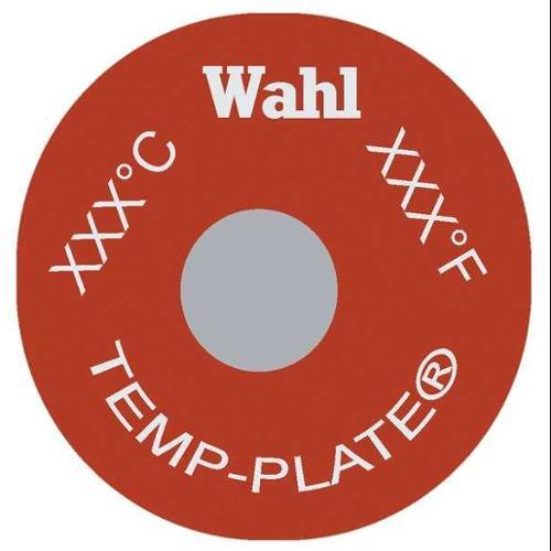 WAHL 414-330F-166C Non-Rev Temp Indicator, Mylar, PK20
