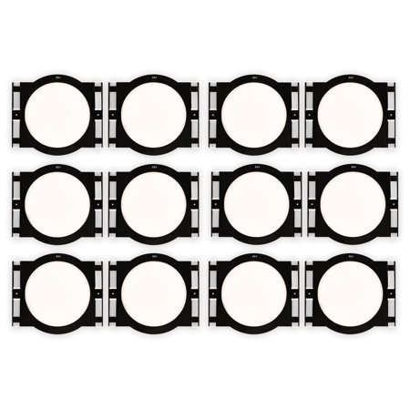 """Theater Solutions RK8C In Ceiling Installation Rough In Kit for 8"""" Speakers 6 Pair Pack"""