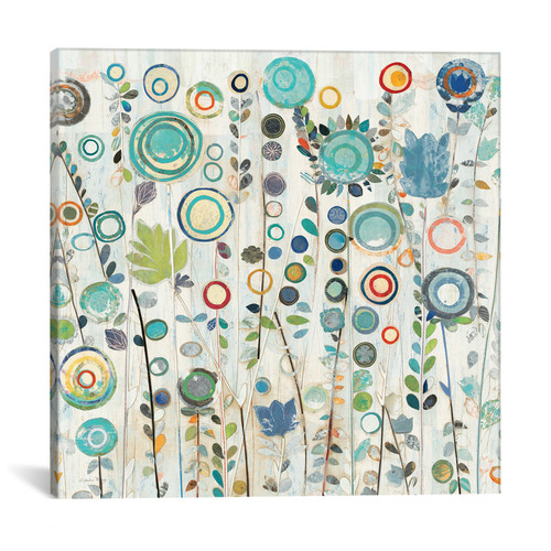 iCanvas Ocean Garden by Candra Boggs Graphic Art on Wrapped Canvas