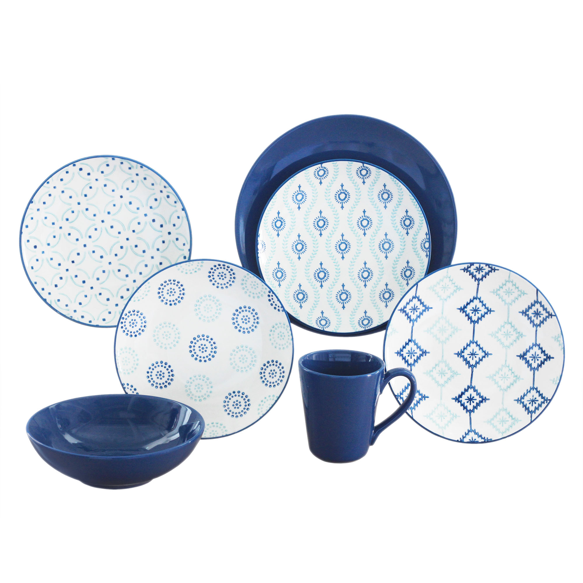 Patterned Dinnerware Sets Amazing Design