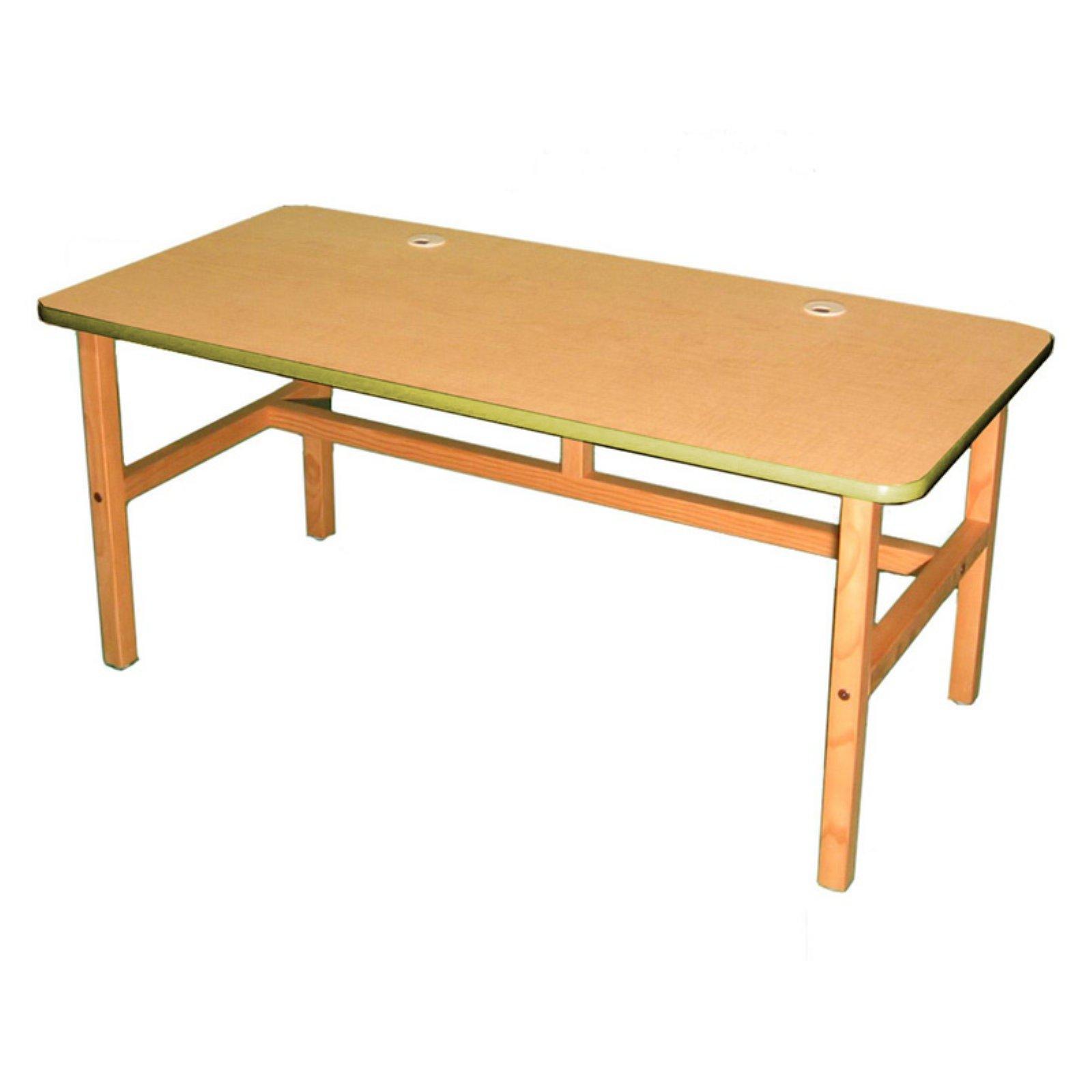 Wild Zoo Side By Side Desk - Maple