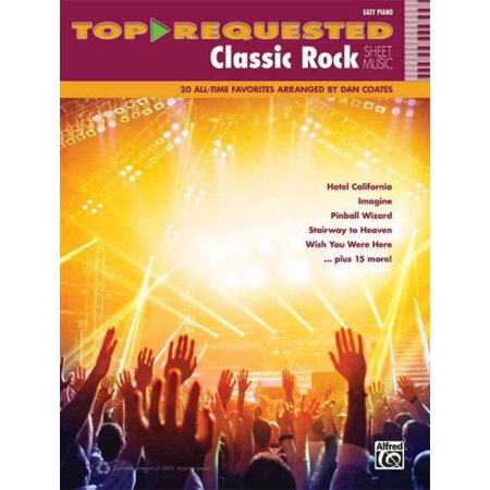 Top-requested Classic Rock Sheet Music: 20 All-Time Favorites (Easy Piano) - Halloween Night Piano Sheet Music