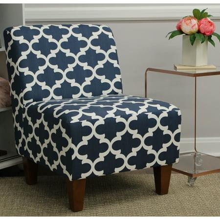 Mainstays Amanda Armless Accent Chair Multiple Colors