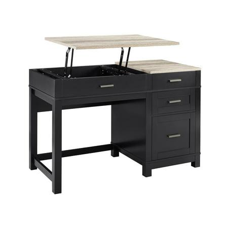 Ameriwood Home Carver Lift Top Desk, Multiple Colors
