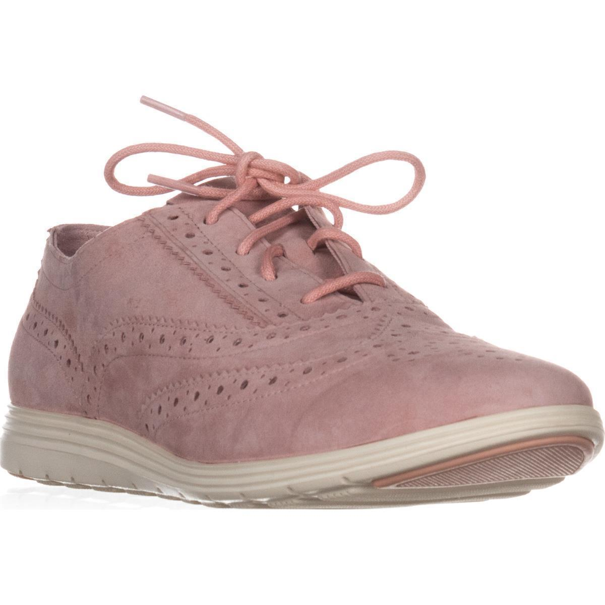 Womens Cole Haan Grand Tour Pink/Ivory Oxford Sneakers, Silver Pink/Ivory Tour 076321