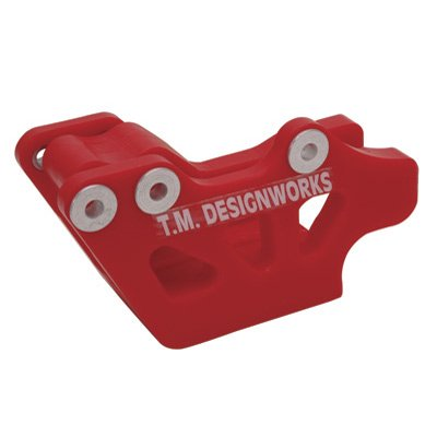 T.M. Designworks Factory Edition 1 Rear Chain Guide Black for Yamaha BLASTER 200 1988-2006 ()