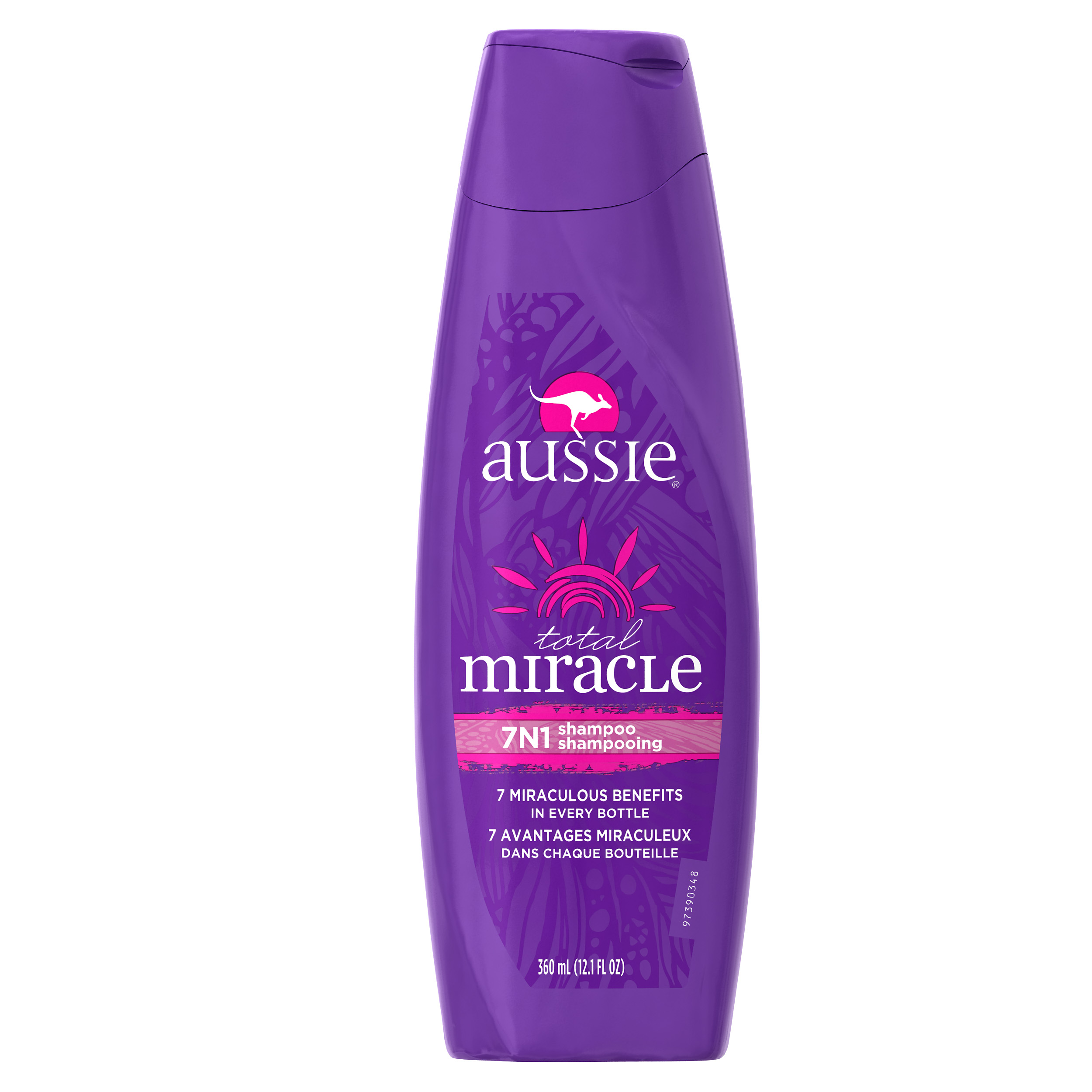 Aussie Total Miracle Collection 7N1 Shampoo 12.1 fl oz