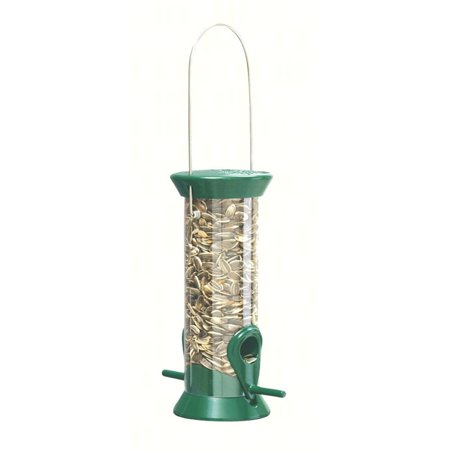 Droll Yankees 8 in. Green Sunflower Feeder