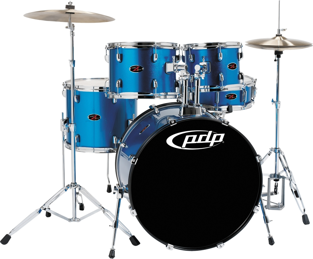 PDP by DW Z5 5-Piece Drum Set Aqua Blue by PDP by DW