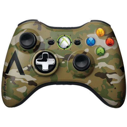 Refurbished Microsoft OEM Wireless Controller Camouflage For Xbox 360