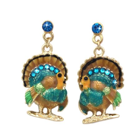 Halloween Jewlery (cocojewelry Turkey  Dangle Earrings Thanksgiving Halloween)