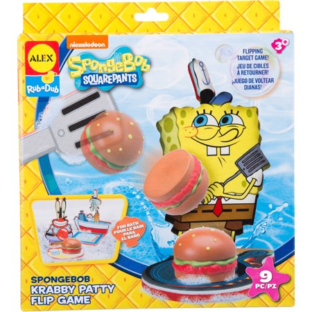Alex Toys SpongeBob Krabby Patty Flip Game