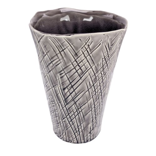 Vita V Home Tama Crosshatch Vase