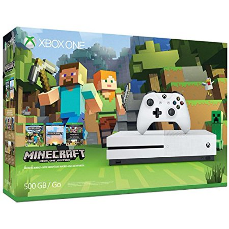 Used Like New Xbox One S 500GB Console - Minecraft Bundle