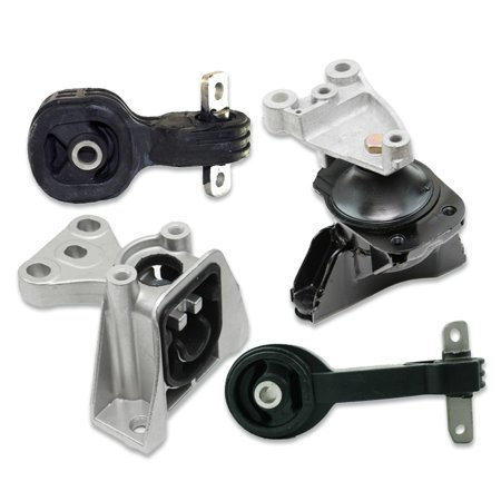 K1347 Fits 2006-2011 Honda Civic 1.8L AUTO Engine Motor & Trans Mount Set 4pcs : A65030 A4534 A4543 -
