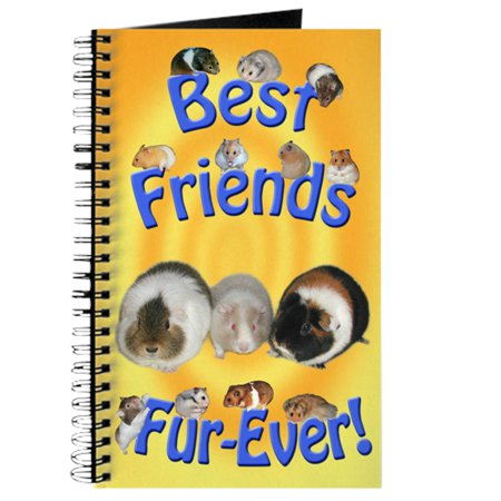 CafePress - Best Friends Fur Ever - Spiral Bound Journal Notebook, Personal Diary Dot (Best Friends Fur Ever Reviews)