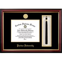 "Purdue University 7.625"" x 9.625"" Tassel Box and Diploma Frame"