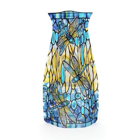 - Modgy Collapsible and Expandable Louis C. Tiffany Dragonfly Vase - NOT GLASS