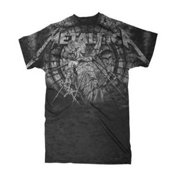 Metallica Mens Stoned Justice Rock Concert Short Sleeve T-Shirt Black MET2083