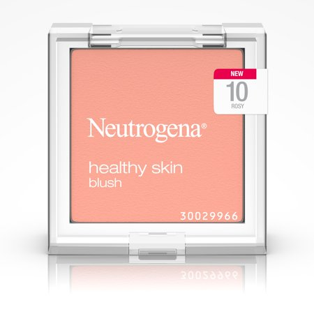 Neutrogena Healthy Skin Blush, 10 Rosy,.19 Oz. (Best Drugstore Blush For Oily Skin)