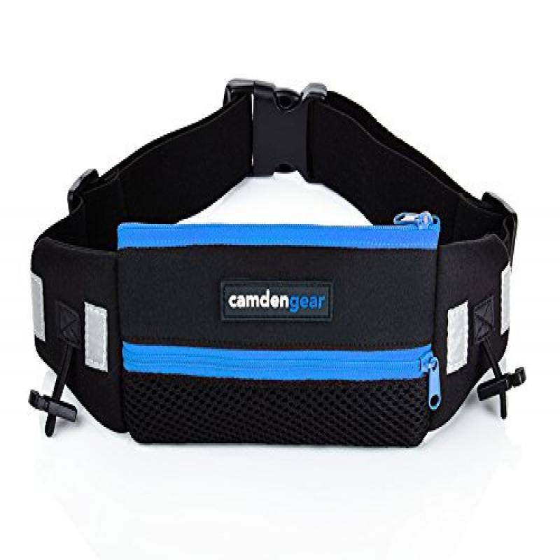 Camden Gear Running Belt, Fits iPhone 6 6S Plus and Andro...