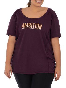 08070dd6af8 Purple Terra   Sky Womens Plus Tops   T-Shirts - Walmart.com