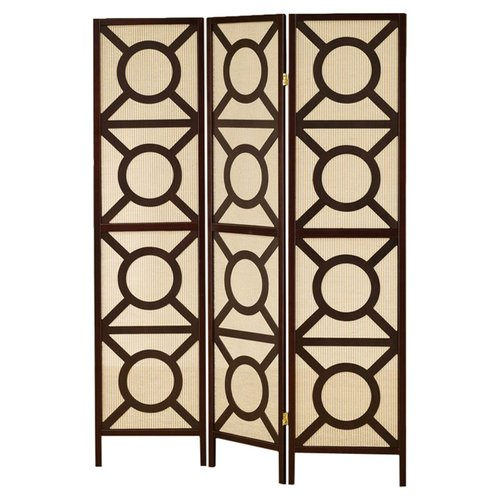 Wildon Home 3 Panel Room Divider by Moda Flame