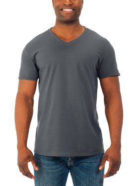 139f337975 Product Image Fruit of the Loom Mens' soft short sleeve lightweight v neck  t shirt, 4