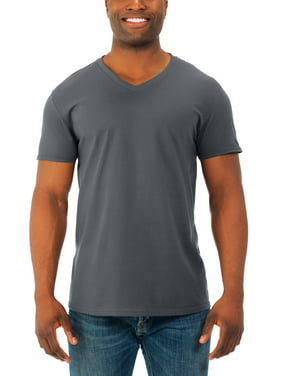b0fad246f Product Image Mens' Soft Short Sleeve Lightweight V Neck T Shirt, 4 Pack