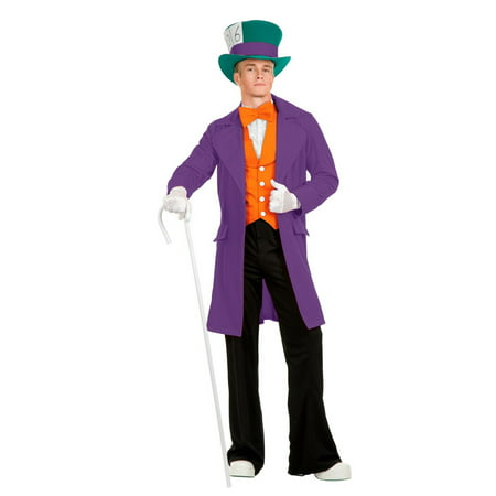Halloween Electric Mad Hatter Adult Purple - Madeline Hatter Halloween