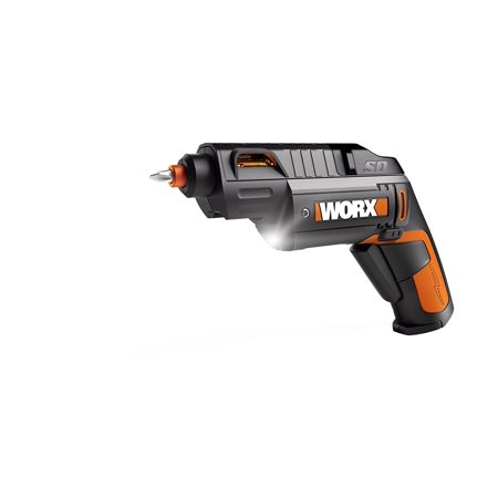 WORX SD Semi-Automatic Power Screwdriver With 12 Driving Bits, WX254L