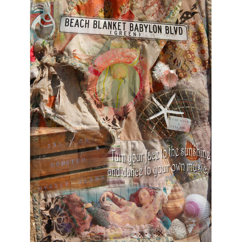 Graffitee Studios General Coastal Beach Blanket Babylon Graphic Art on Wrapped Canvas