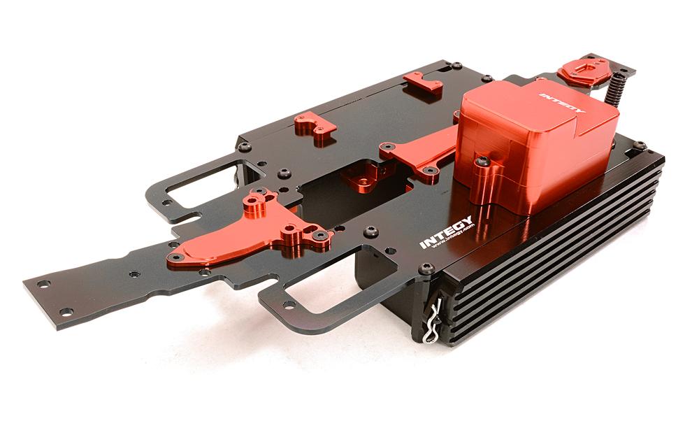 Integy RC Model Hop-ups C27145SILVER Alloy Machined Adjustable Length Servo Horn 25T for Futaba Servo r=20-27mm