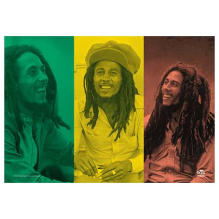 Bob Marley Rasta Collage Tapestry Cloth Poster Flag Wall Banner 30