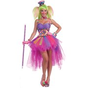 tutu lulu the clown womens adult halloween costume - Girl Clown Halloween Costumes