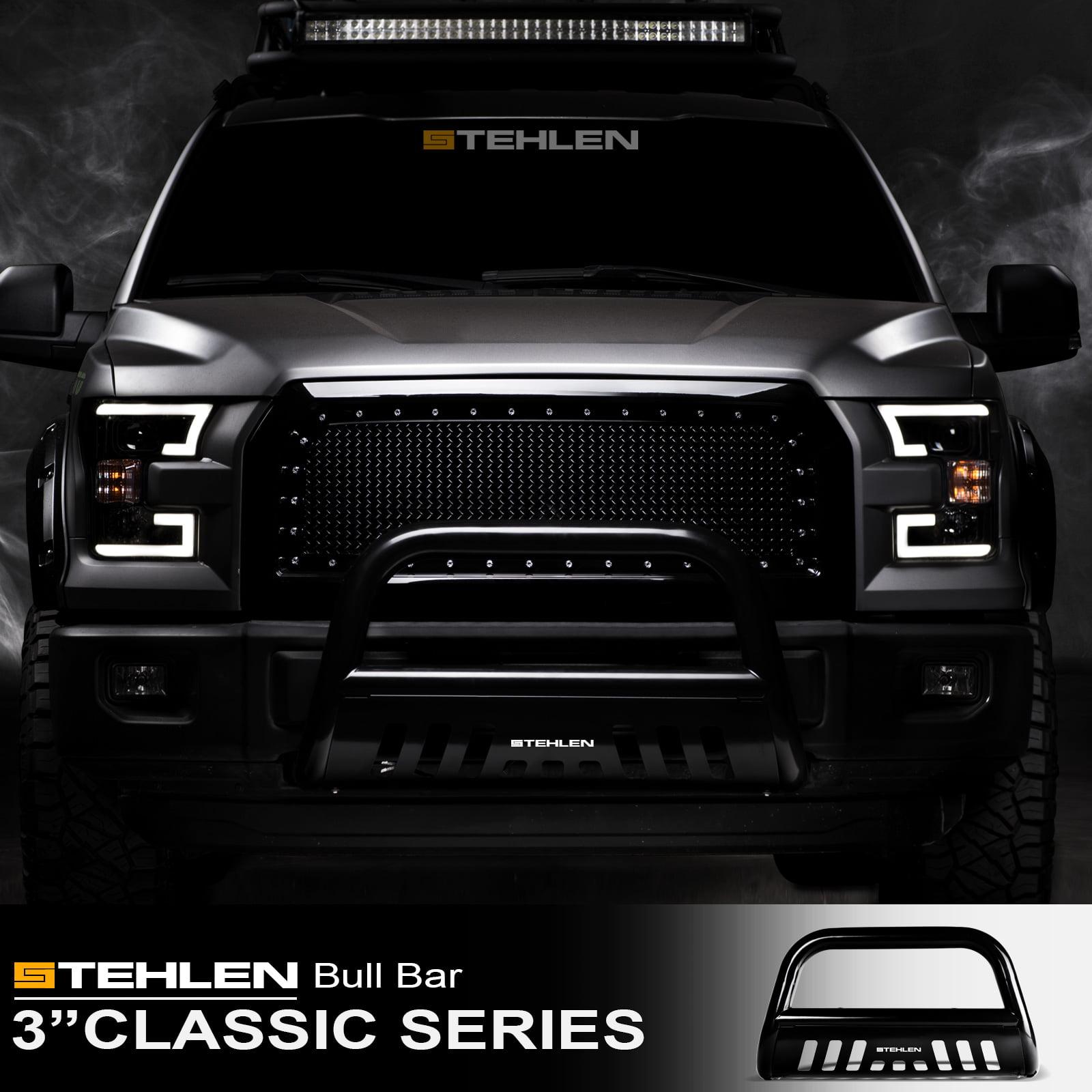 Stehlen 714937181885 3 Classic Series Bull Bar Black For 2008