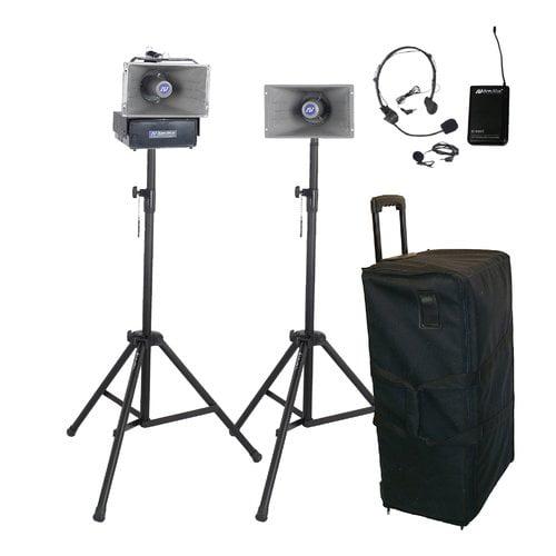 AmpliVox SW632 Wireless Half-Mile Hailer Portable Sound System