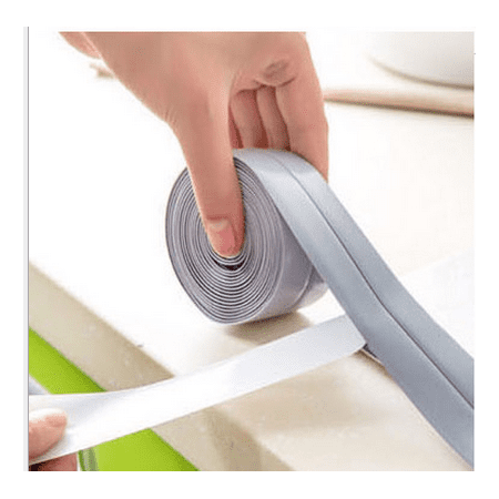 Gap Strip (YMIKO Sealing Strip Windows Door Sink Kitchen Tool Antifouling Gas Stove Sticker 3.2m )