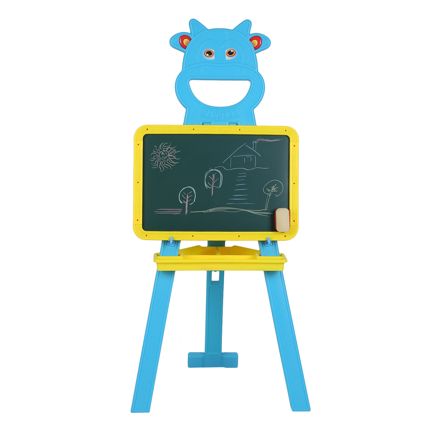 CNMODLE Children Kids Learning Drawing Practice Handwriting Board Height Adjustable Floor Stand Rack Bracket Educational Toy