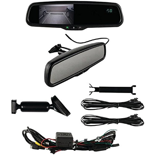 "Ibeam Te-rvmtc 4.3"" Rearview Mirror With Compass & Temperature"