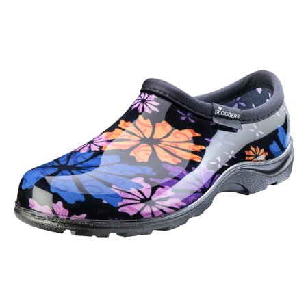 Sloggers Women's Waterproof Flower Power Comfort Shoes