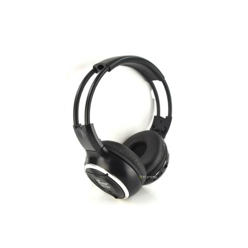 New Tview T574HP 2 Channel Foldable IR Headphones Car Audio Dual Channel