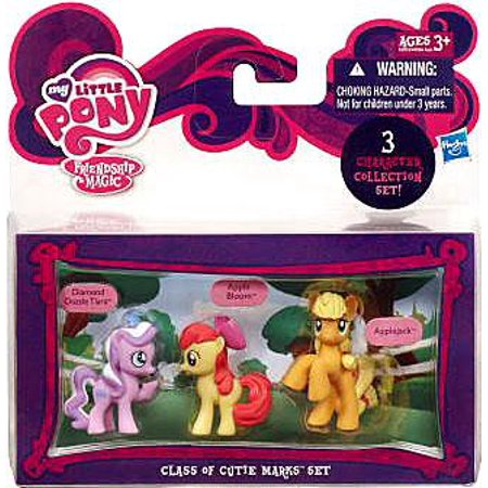 My Little Pony Character Collection Sets Class of Cutie Marks Figure Set