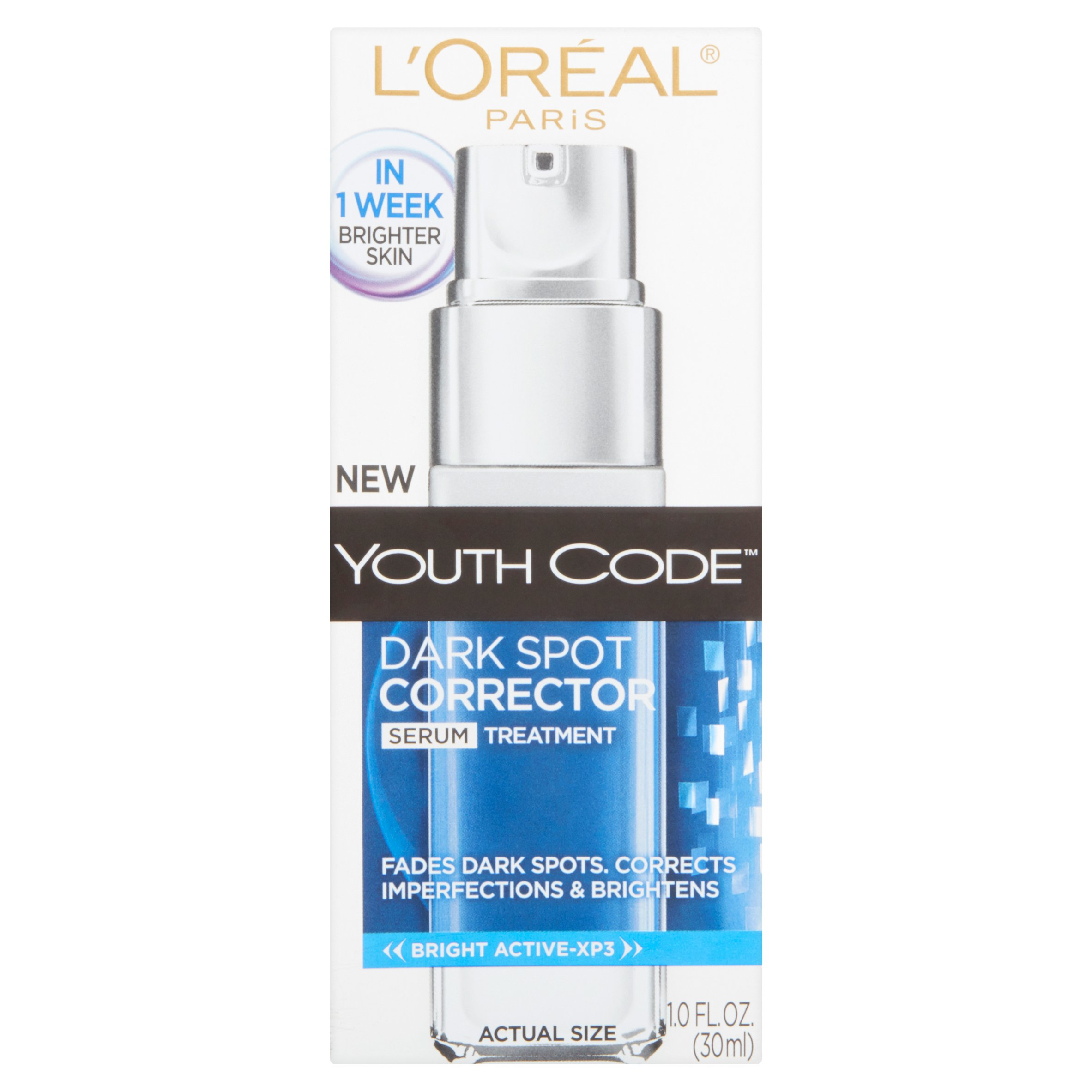L'Oreal Paris Youth Code Serum Corrector Daily Treatment, 1.0 FL OZ
