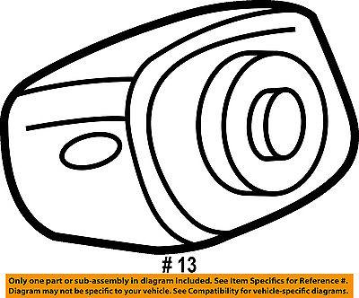 Chrysler Oem 01 04 Sebring Instrument Panel Dash Column Support